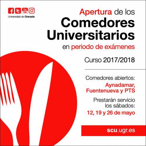 Comedores Universitarios de Granada > Bienvenido | Universidad de ...